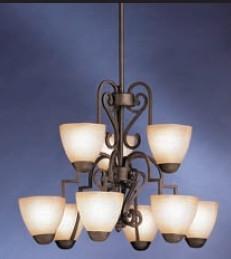 Kichler 9-Light Chandeliers $79.99 Shipped Free