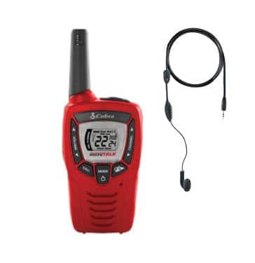 Cobra Weather Alert Radio with Earbuds $19.99 shipped with coupon