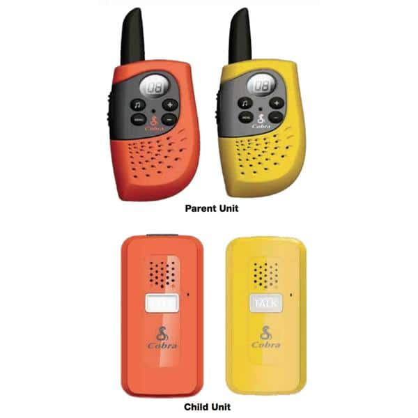 COBRA FS300-2 FAMILY SAFETY RADIO SET (TWO PRE-PAIRED SETS) was $69.99 Now $29.99 shipped