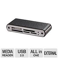 TigerDirect Deal: Ultra U12-40497 LeatherX All-in-One Mini Card Reader USB 2.0 - $4.97 AR + free shipping @ TigerDirect.com