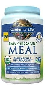 Garden of Life Meal Replacement - Organic Raw Plant Based Protein Powder 34.2oz (969g) $26.51 (or  $22.3 with 5 items) with Subscribe and save