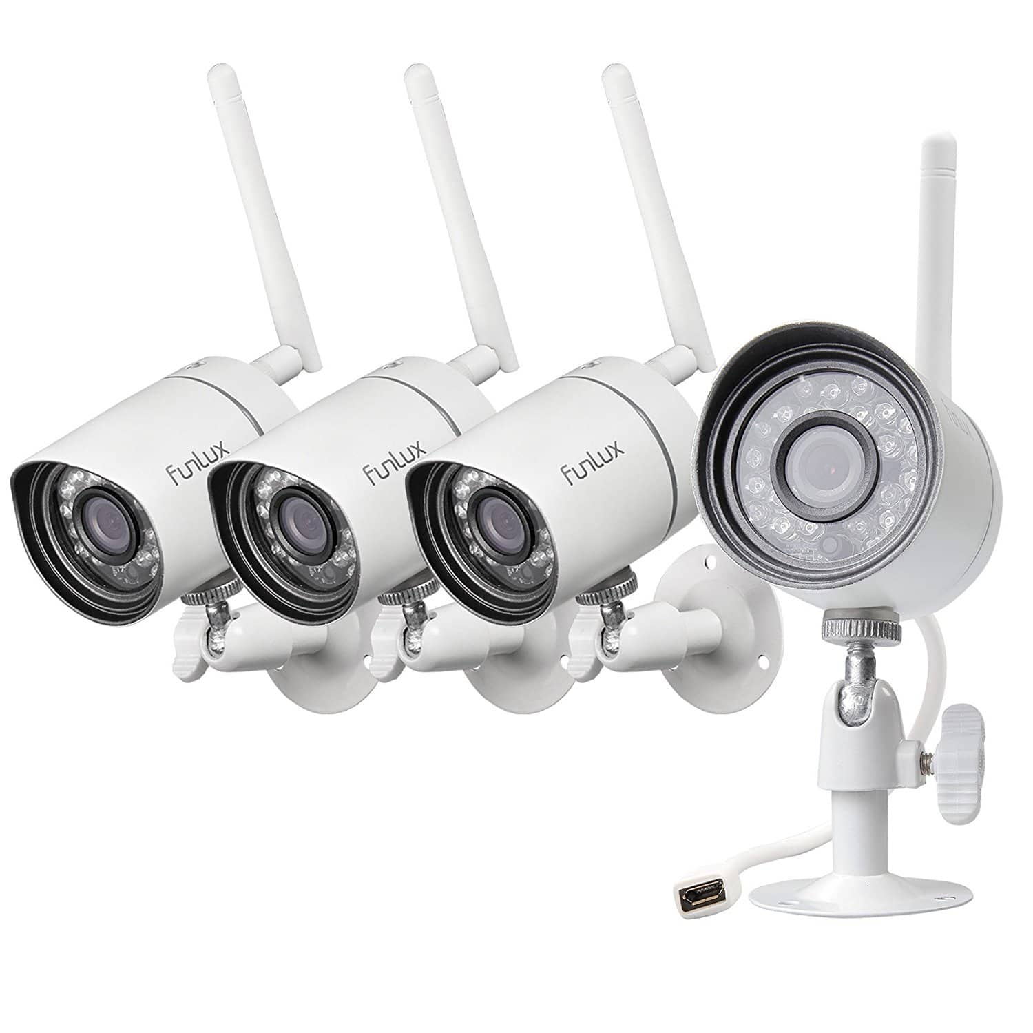 4-Pack 720p HD Outdoor Wireless Home Security Camera Surveillance System $79.99 @ Amazon + Free Shipping