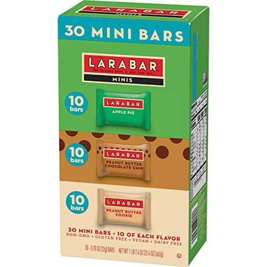 Larabar Minis Gluten Free Bar Variety Pack (30 Count) for $11.63 at Amazon.com w S&S