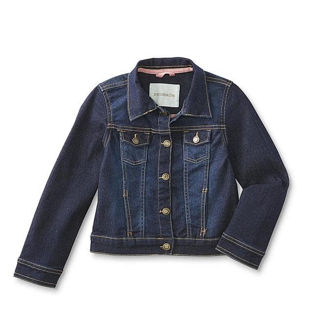 Toughskins Toddler Girls' Denim Jacket $5.99