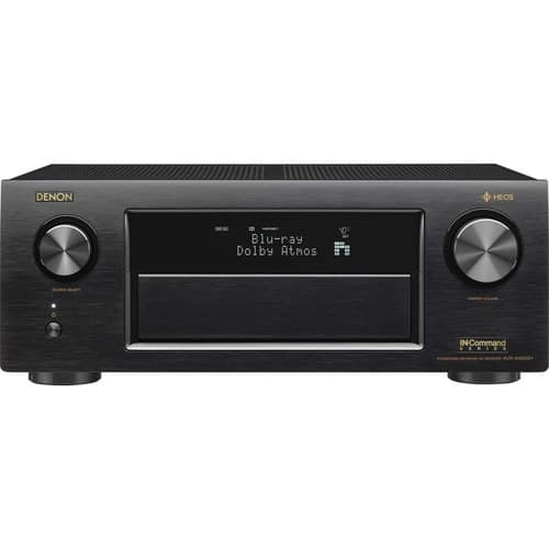 Denon AVR-X4300H IN-Command 9.2-channel home theater receiver with Wi-Fi®, Dolby Atmos®, DTS:X, and HEOS