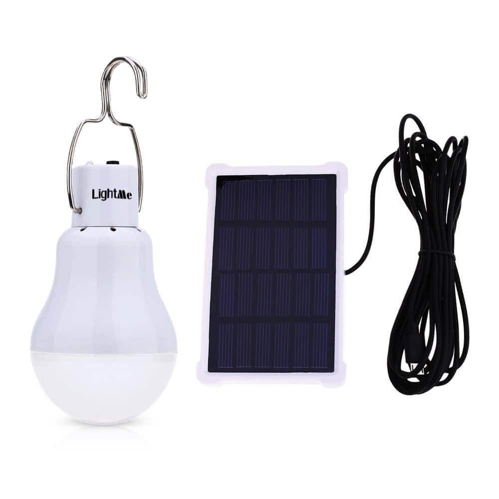 40% Off Portable 15W 140Lumen Solar Powered Outdoor Solar Energy LED Lamp - $7.99 AC
