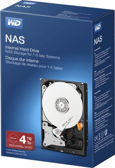 Western Digital 4TB Red NAS - $119 - $30 off
