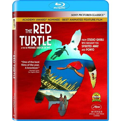 The Red Turtle BluRay $15