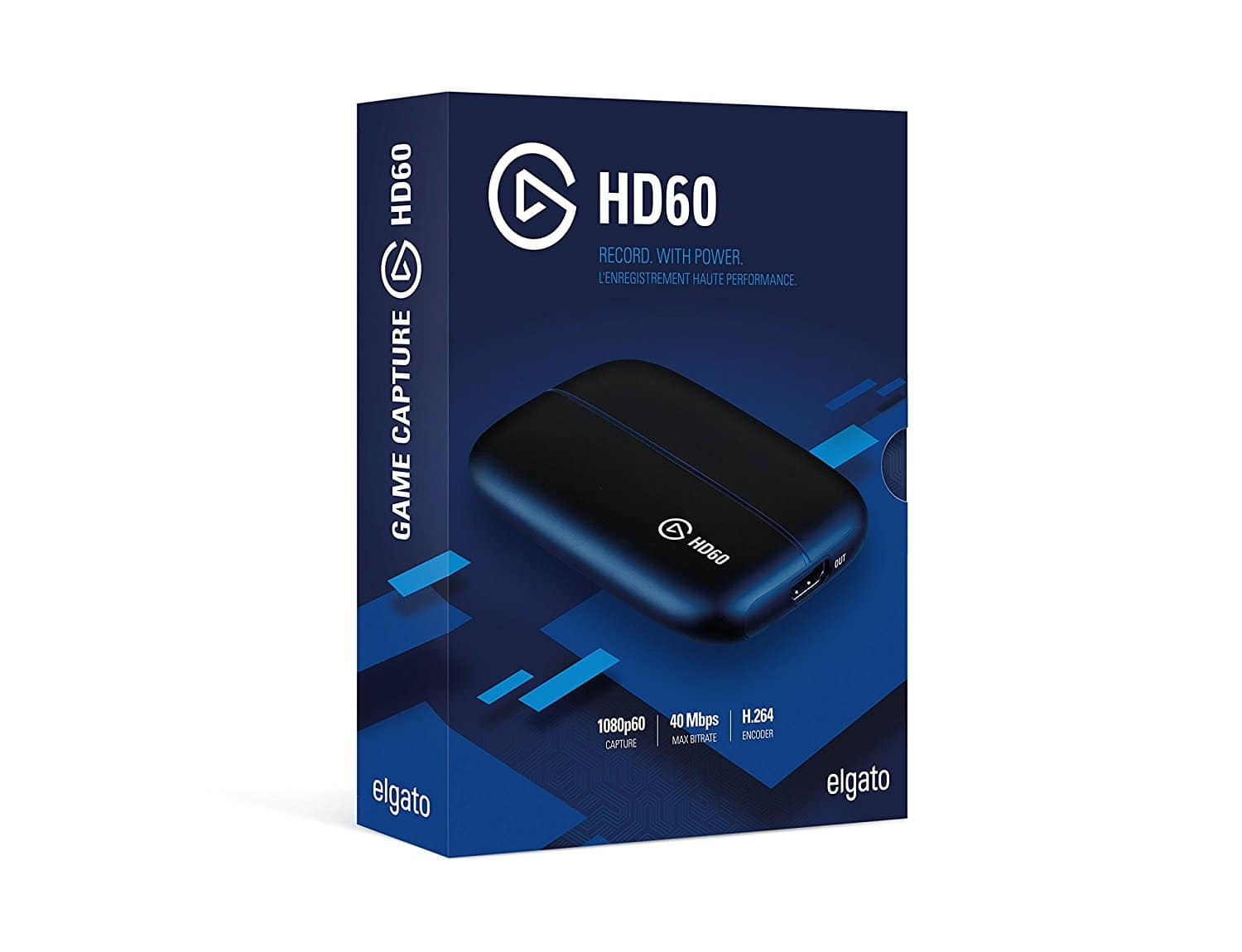 Elgato Game Capture HD60, for PS4, Xbox One, Xbox 360, Wii U 1080P 60fps (Amazon $109.99)