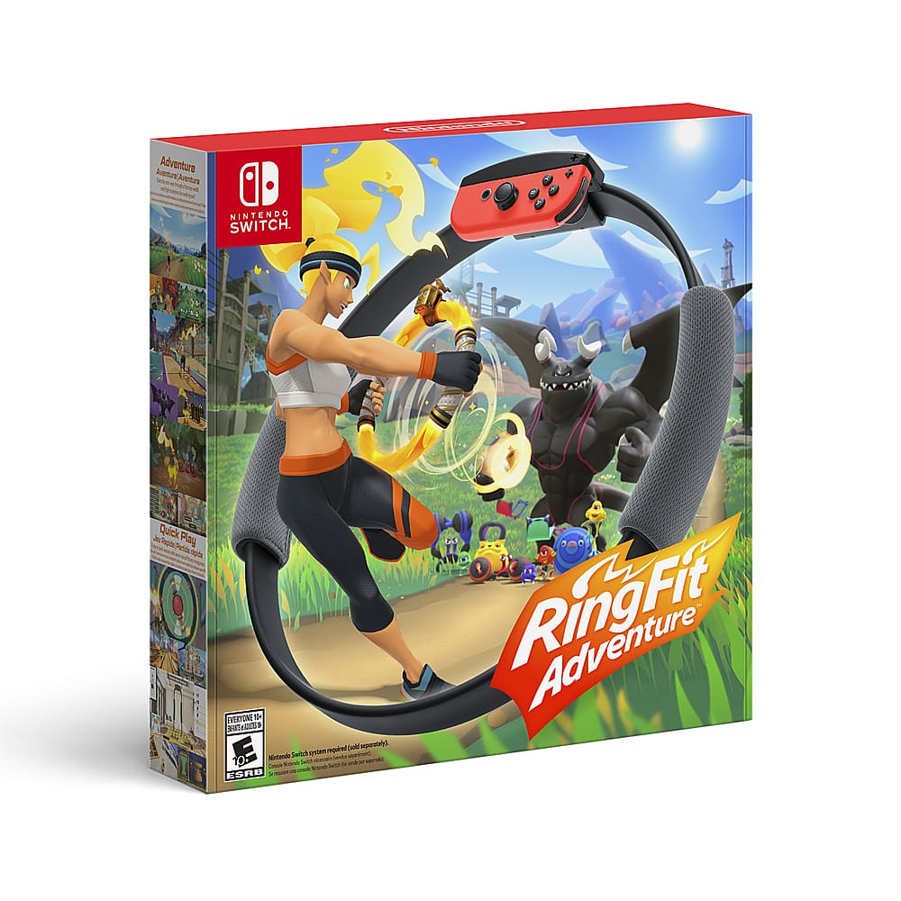 Ring Fit Adventure (Nintendo Switch) $69.79 or $63.99 +Tax Free Shipping
