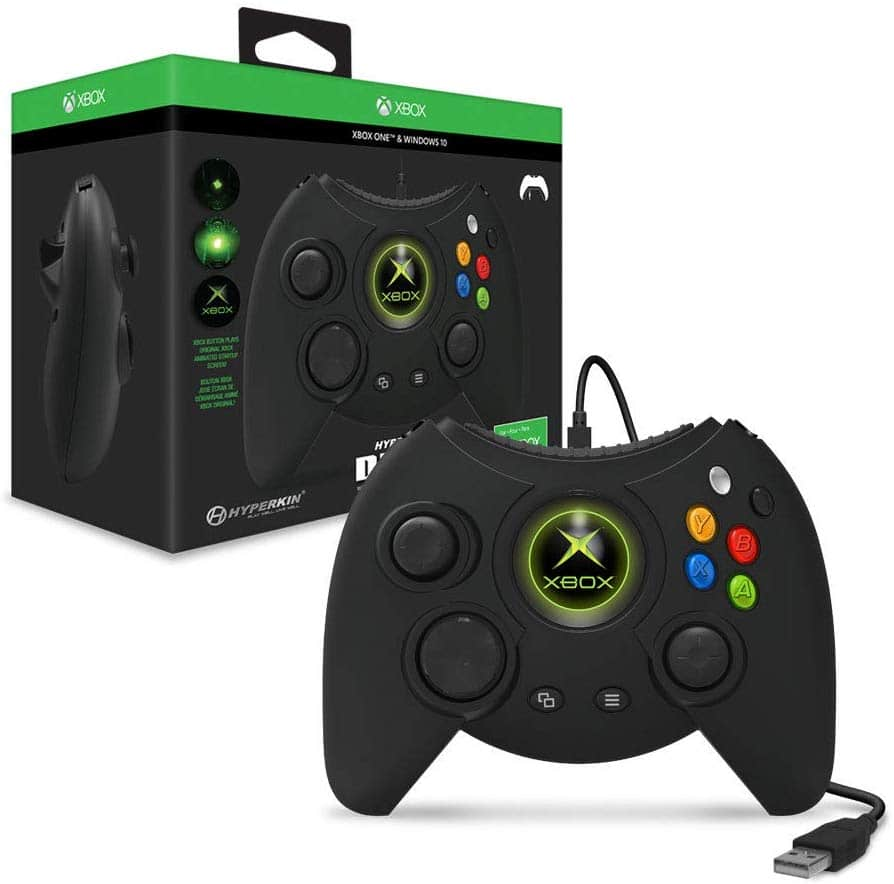 Hyperkin Duke Wired Controller for Xbox One/ Windows 10 PC (Black) - Officially Licensed by Xbox $49.99