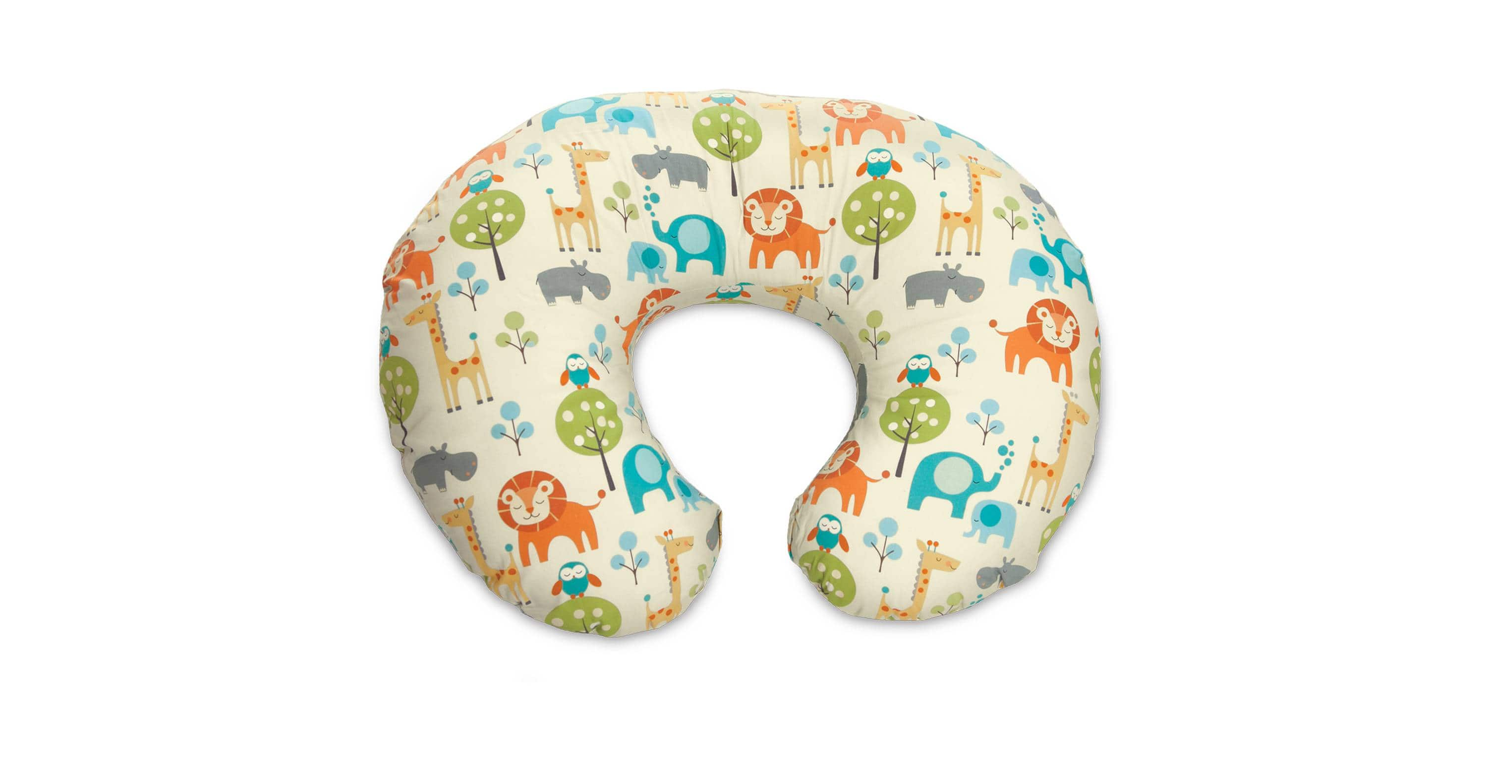 Boppy Pillow Peacefull Jungle Clearance @ Target B&M $19.98