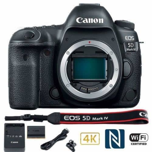 Canon 5D Mark IV (body) with free shipping $2479.99