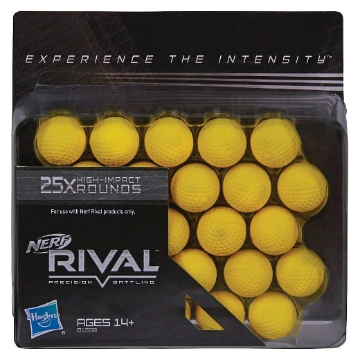 NERF Rival 25-Round Refill Pack $4.59 + Free In Store Pickup