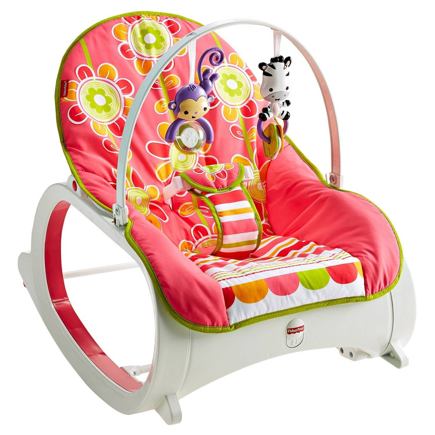 Fisher-Price Rocker in Floral Confetti for $23.19 + free in store pick up