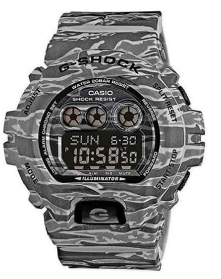 CASIO G SHOCK GD-X6900CM-8 WATCH GREY CAMOUFLAGE 200 M for $90.25 + free shipping with code
