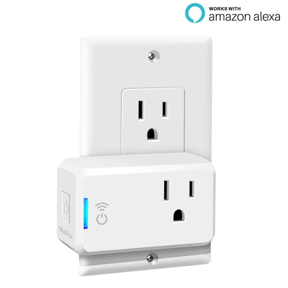 Mailiya Smart Plug Mini, Wi-Fi Switch Outlet Socket for $13.86w/code + free prime shipping