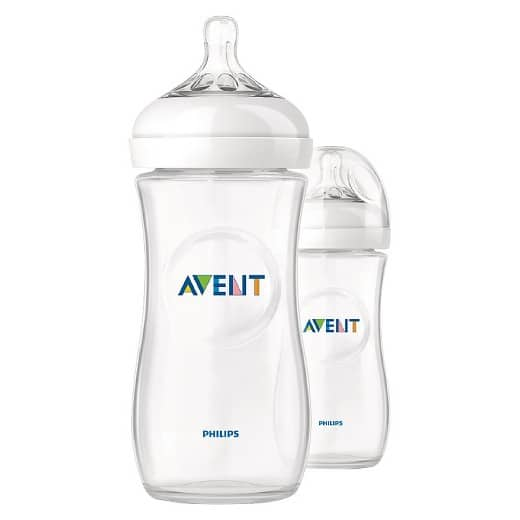 Philips Avent Natural Bottle- 2 Pack for $8.48 + free pick up at store YMMV