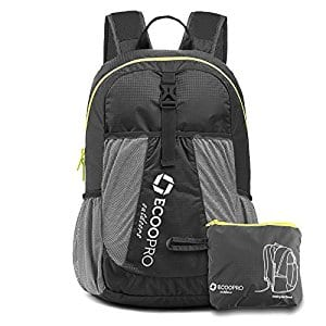 ECOOPRO 20L Packable Travel Backpack for $9.79 w/code + Free prime shipping