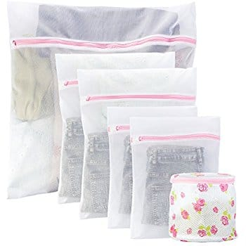 VIILER Set of 6 Laundry Wash Bags for $4.95 w/code + free prime shipping