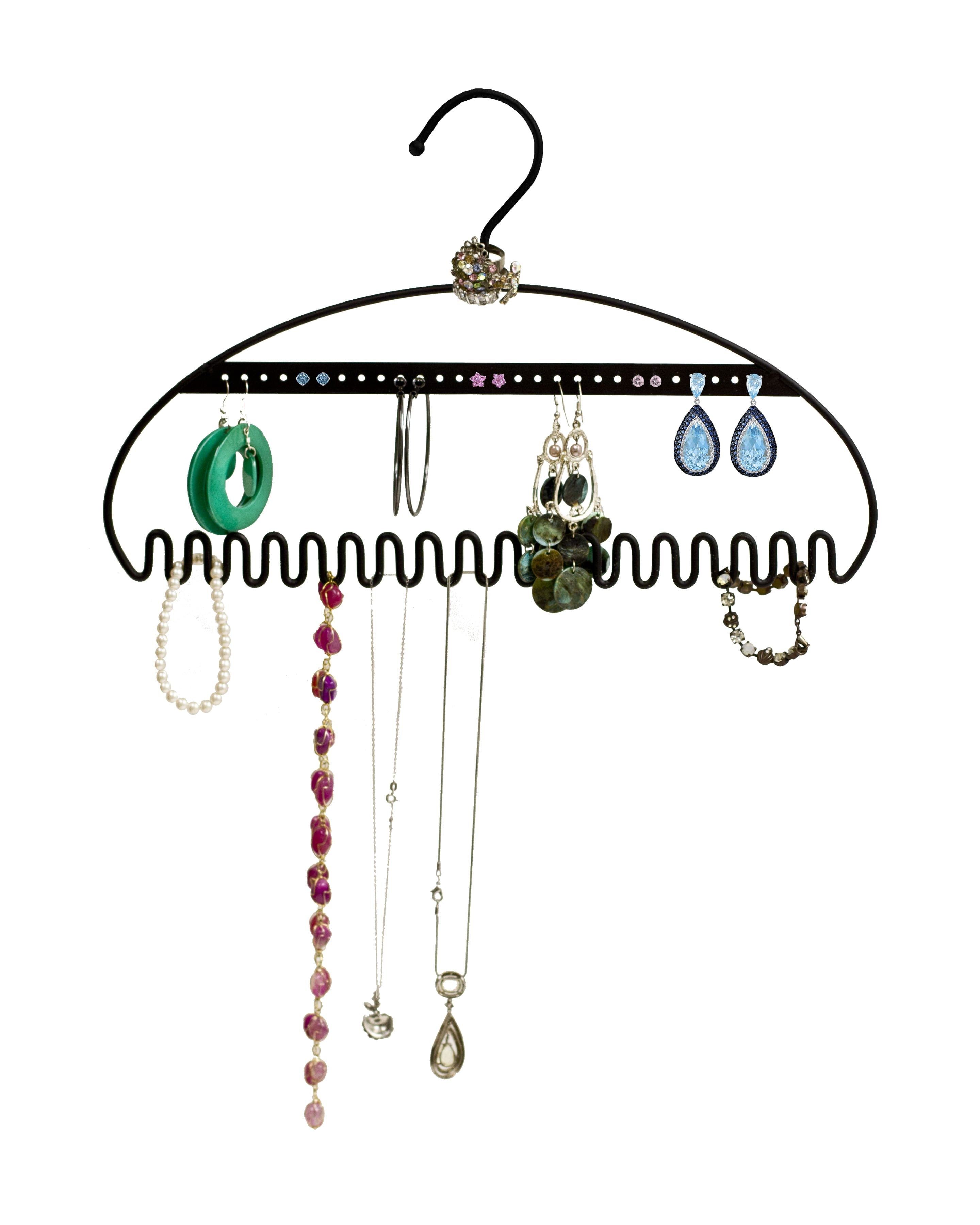 Hangit jewelry and accessory organizer - 2 pack for $5.95 w/code + free prime shipping