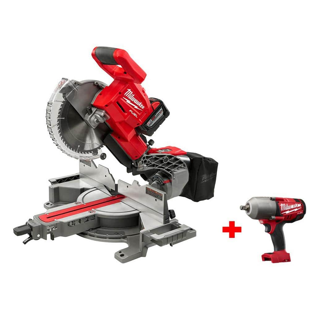 Milwaukee M18 FUEL Miter Saw Promotion With Free Bare Tool @ HomeDepot.com $599