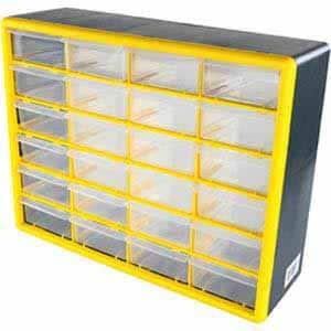 Rhino 24 Plastic Drawer Cabinet @ Fry's with Store Pickup and MIR $5