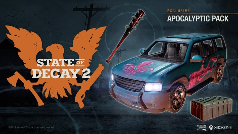 State of Decay 2 - Apocalyptic Pack DLC Xbox One/PC - $1.29 - cdkeys.com