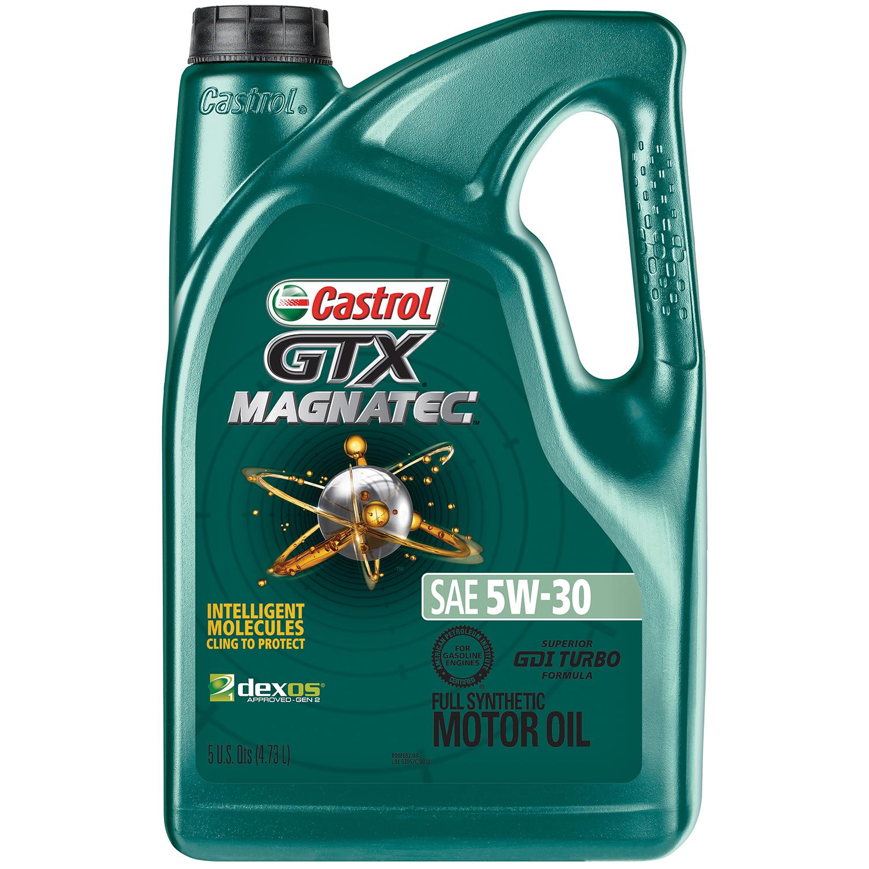 5-QT Castrol GTX MAGNATEC 5W-30 Full Synthetic Motor Oil $15.28