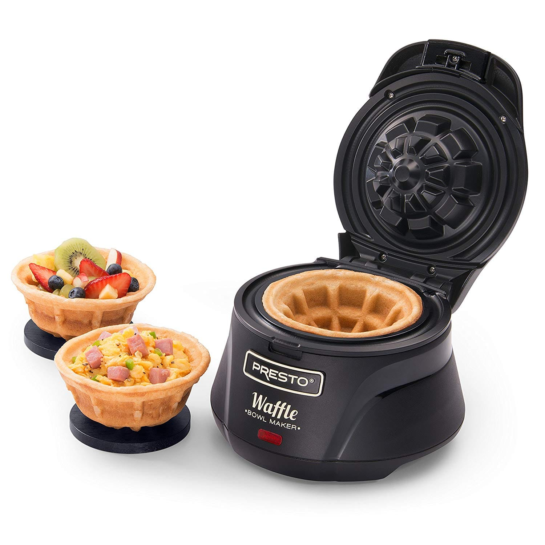 Presto 03500 Belgian Waffle Bowl Maker $14.99