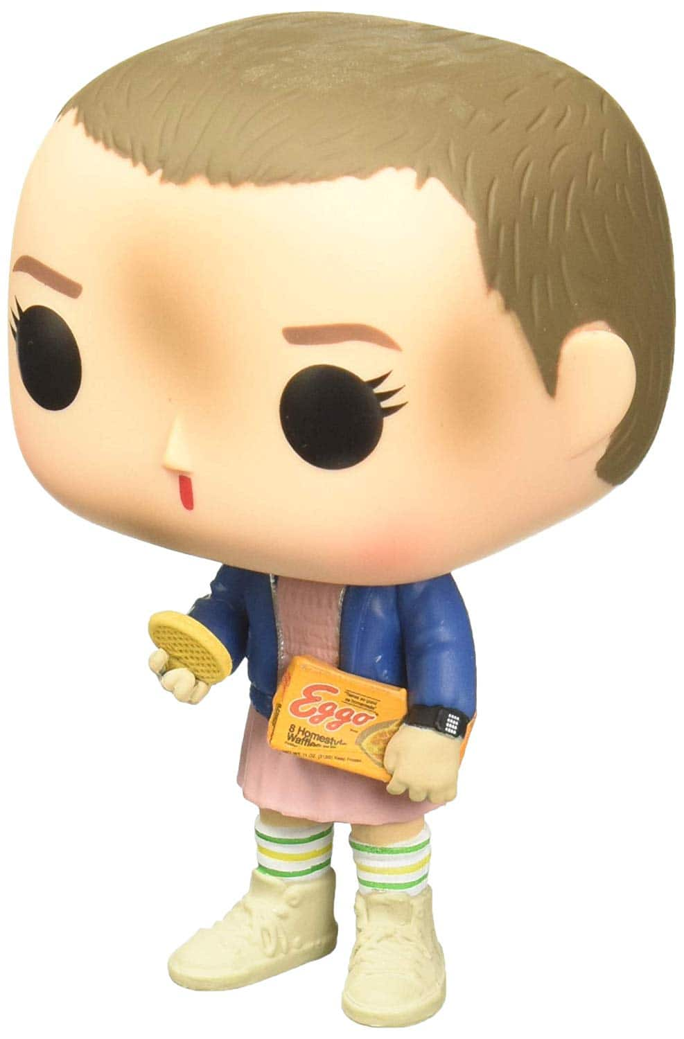 Funko Pop Stranger Things Eleven with Eggos Vinyl Figure , Styles May Vary - With/Without Blonde Wig $4