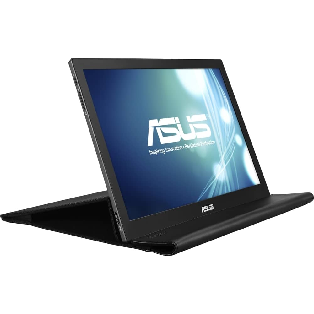 "Asus - MB168B 15.6"" Portable USB-powered Monitor - Black $98"
