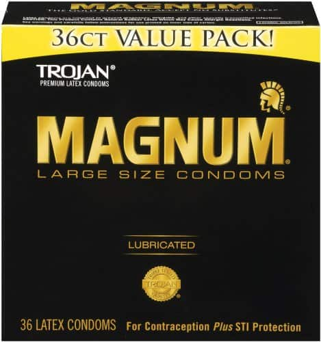 Trojan Magnum Lubricated Condoms 36ct Value Pack $11.96 shipped w/ Amazon S&S