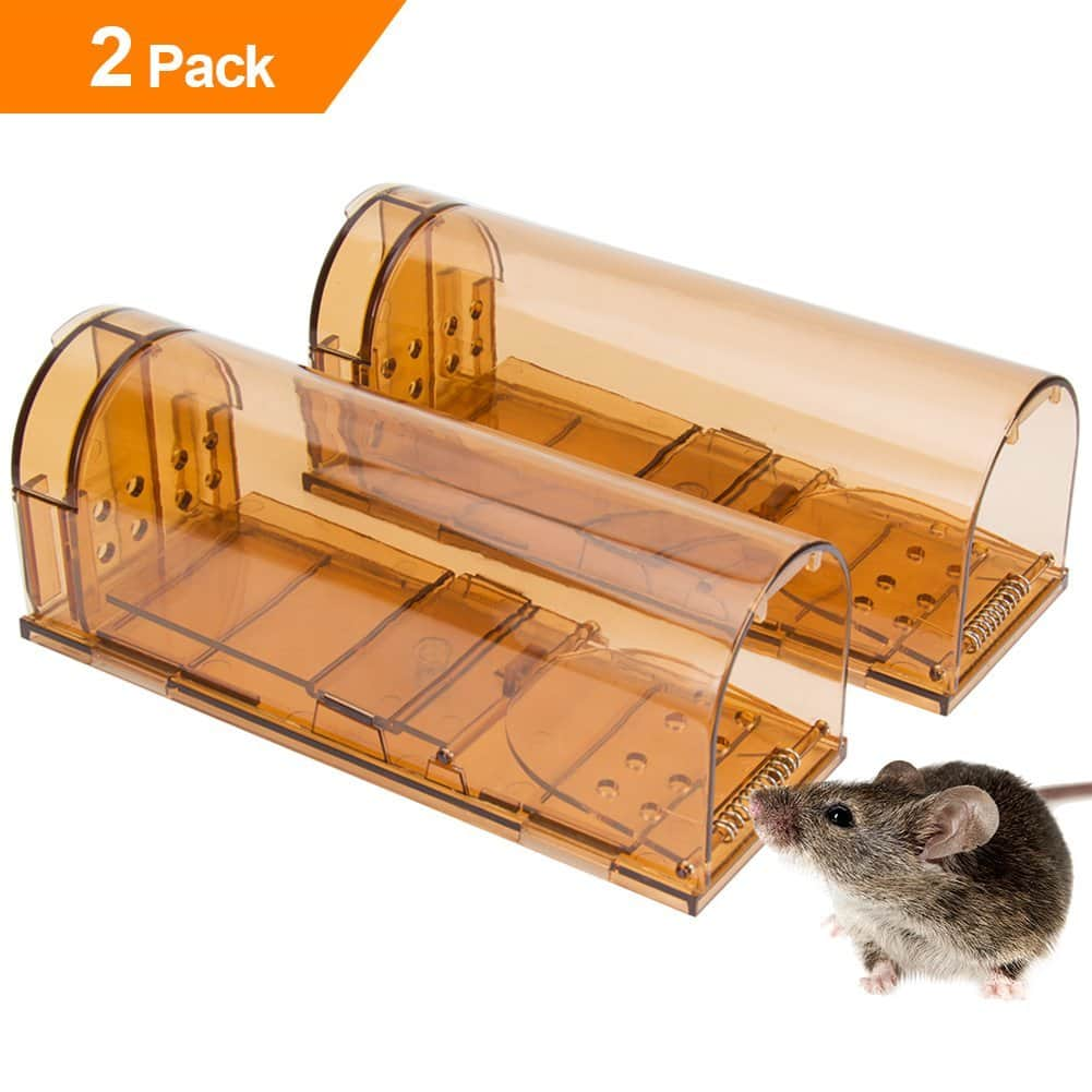 Save upto 29% OFF - Humane Smart Mouse Trap No Kill Live Catch (2) $9.9