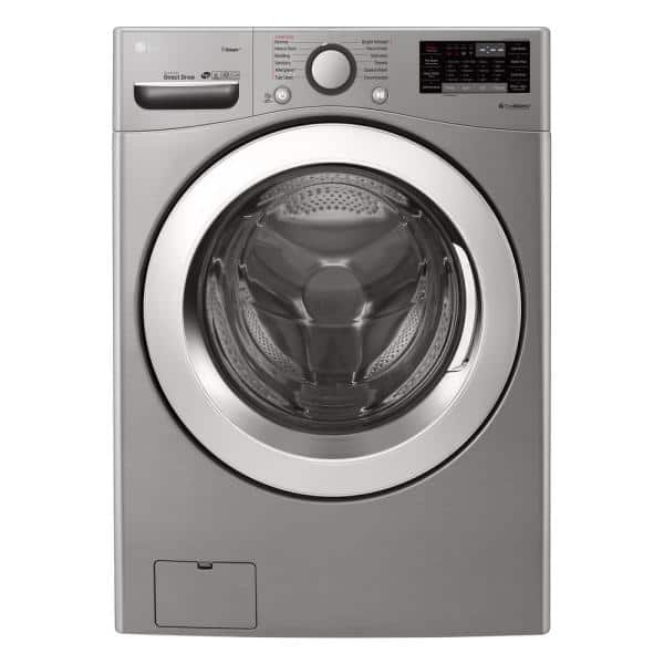 LG Electronics WM3700HVA 4.5 cu.ft. Ultra Large Capacity Front Load Washer with Steam and Wi-Fi Connectivity in Graphite Steel $698