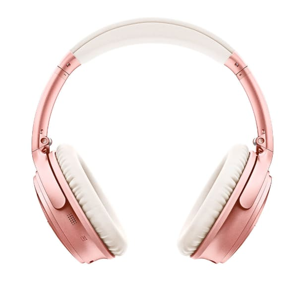 Bose QuietComfort 35 wireless headphones II - rose gold - bose.com $249.95