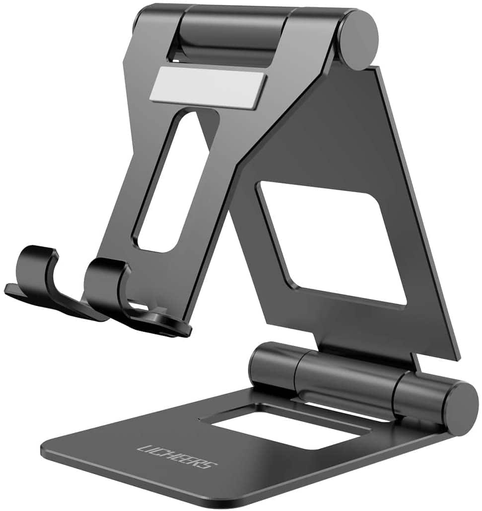 Licheers Adjustable Tablet Stand, iPad Stand: Universal Tablet Holder Compatible with iPad and other tablets - $10.19
