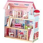 KidKraft Chelsea Doll Cottage with Furniture - $69.99 at Amazon