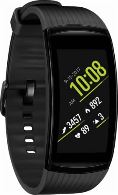 Samsung - Gear Fit2 Pro Fitness Watch (Small) - Black $149
