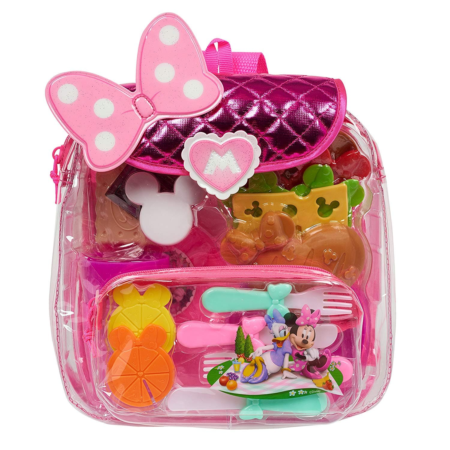 Minnie Happy Helpers Backpack Picnic Set-Amazon Add On $3.66