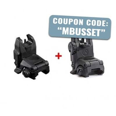 MAGPUL GEN 2 MBUS FRONT & REAR BACK-UP SIGHTS SET $49 with code MBUSSET @ PALMETO STATE ARMORY