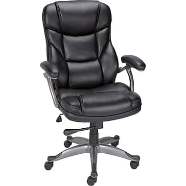 Staples Osgood Bonded leather chair $100