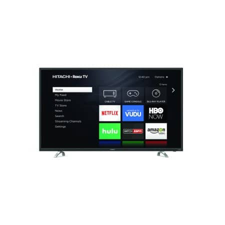 "Hitachi 60"" 4K UHD HDR10 Roku Smart LED TV (60RH2)+free shipping/store pickup @walmart.com $529.99"