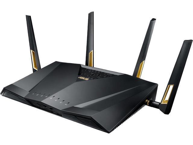 ASUS RT-AX88U AX6000 Dual Band 802.11AX WiFi6 Router, MU-MIMO, OFDMA, AiProtection and AiMesh Ready $329.99