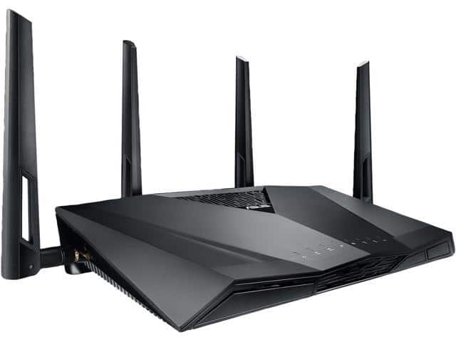 ASUS RT-AC3100 WiFi Dual Band Gigabit Wireless Router w/ 4x4 MU-MIMO 179.99 + FS $179.99