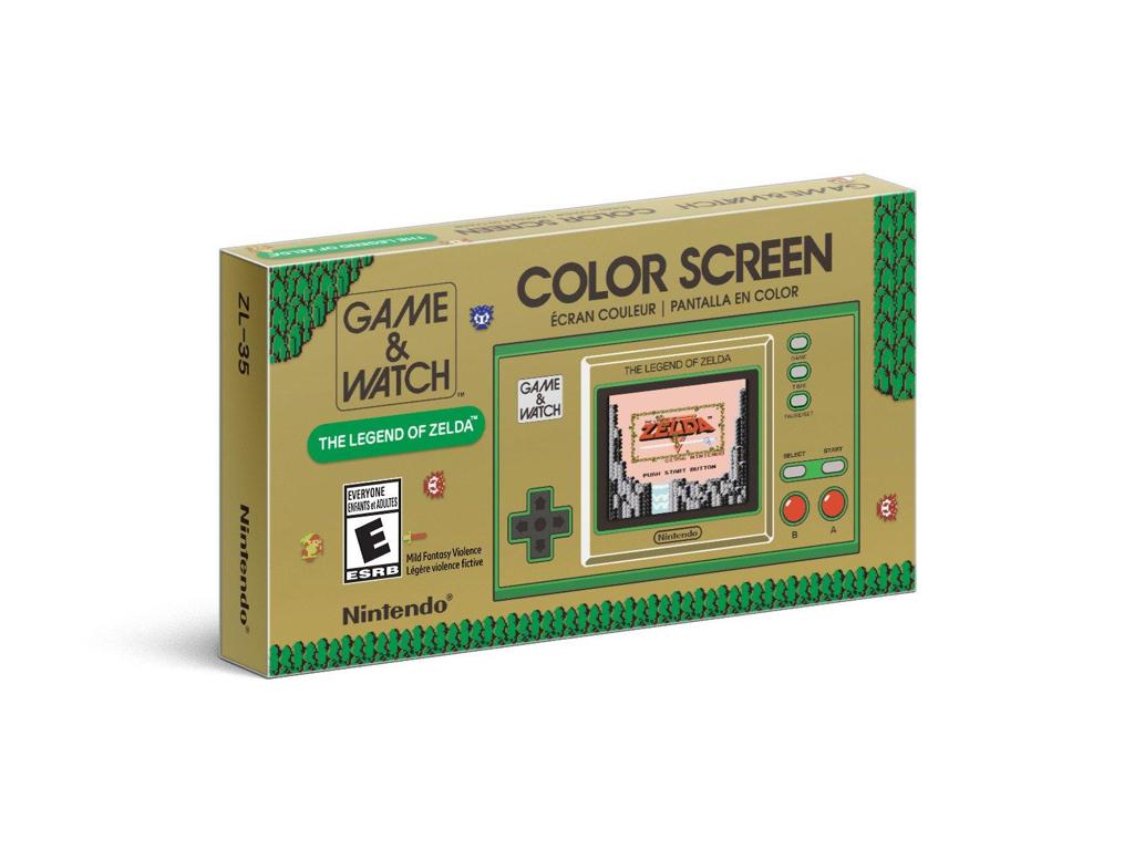 Game and Watch Legend of Zelda | Nintendo | GameStop - $49.99