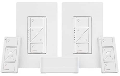 Amazon Alexa Deals for Lutron Caseta Wireless Deluxe Smart Lighting Kit $119
