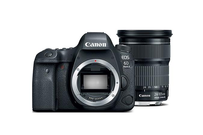 Canon 6D MII + 24-105 STM (Refrb) $1299