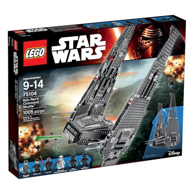 LEGO Star Wars Kylo Ren's Command Shuttle (75104) ToysRUs via Rakuten AC $72.79 FREE SHIPPING