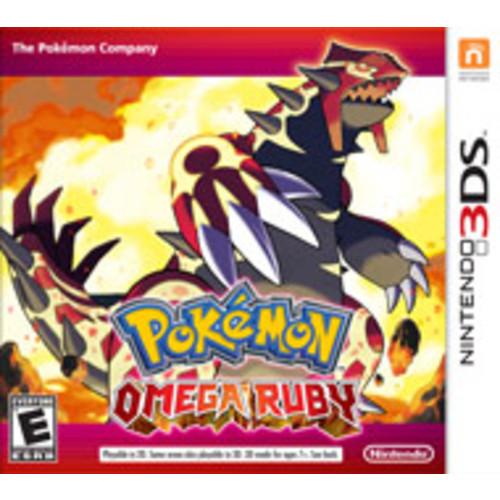 Pokemon Omega Ruby- Pre Owned Gamestop $19.99